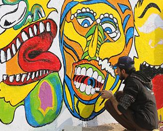 Glow Graffiti – Multan