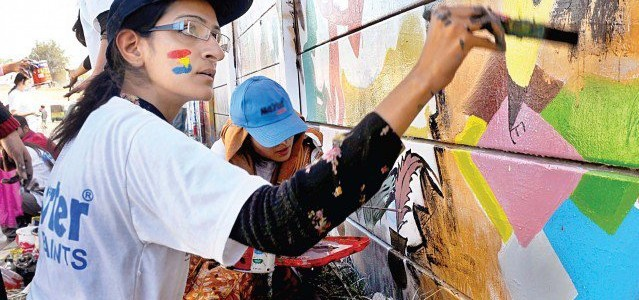 Painting our walls: Street art contest aims to beautify city