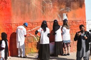 street Art Pakistan-Abbottabad 1