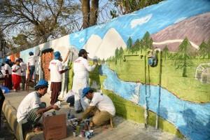 street Art Pakistan-Abbottabad 7