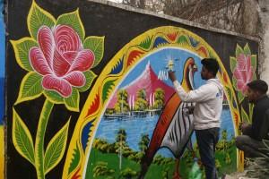 street Art Pakistan-Malakand 1